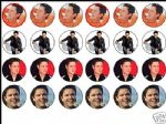 24 x Donny Osmond 1.6'' Edible Rice Wafer Paper Cup Cake Toppers freepost